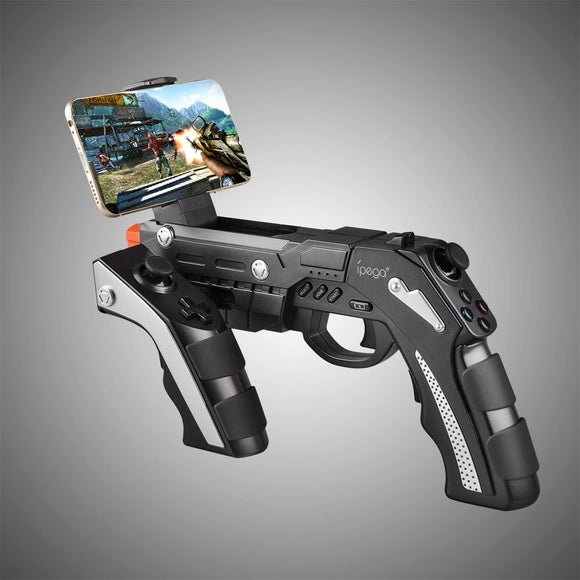 Ipega PG-9057 Joystick for Phone Android Bluetooth Wireless Game Controller Gun Joystick for Pad/Android Phone Tablet PC