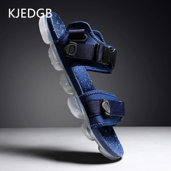 KJEDGB 2019 Designer New Air Cushion Mens Sandals Summer Men Gladiator Dual-use Sandals and Slippers Leisure Beach Men Shoes