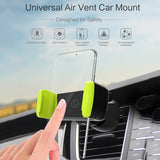 LINGCHEN Car Phone Holder Adjustable Air Vent Mount Holder Stand For Mobile Phone Universal in Car Holder For Samsung S8 S9 Plus