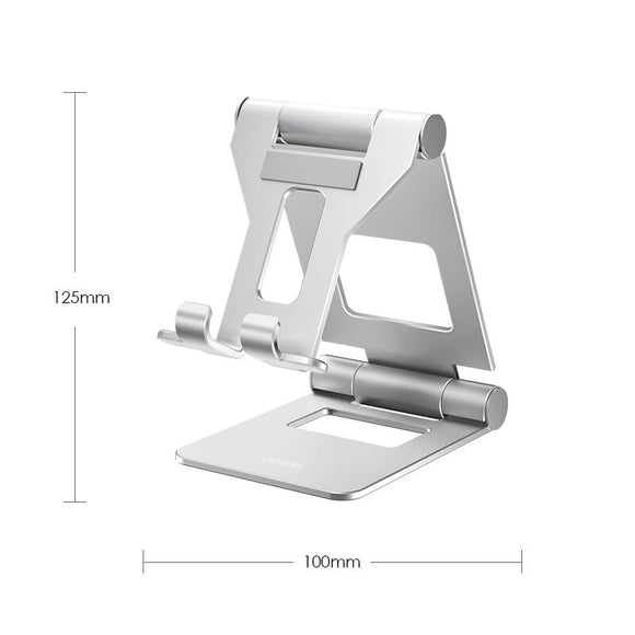 LINGCHEN Foldable Tablet Holder Stand Adjustable Metal Material Big Size Phone Holder Aluminium Alloy For iPad mini/ipad air