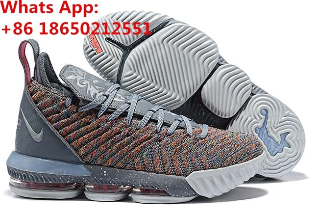 new style fa099 2d261 LeBron 16 16s XVI GS James Basketball Shoes Sneakers Grey King I Promise  Oreo Thru MVP What The Mens 2019 Trainers Shoes
