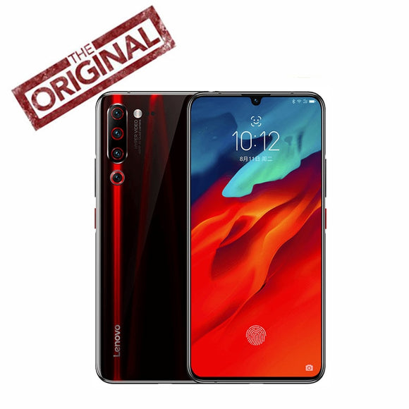 Lenovo Z6 Pro Smart Phone Snapdragon 855  Android P ZUI 11 4G LTE 6.39 Inch Screen FingerPrint 4 Cameras 4000 mAh Face ID NFC