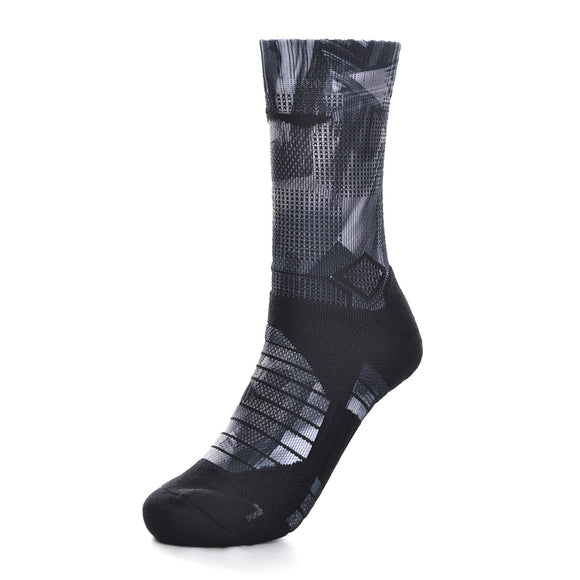 Li-Ning Men Badminton Sports Socks 24-26cm 51.8% Polyester 44.7% Cotton 3.5% Spandex Spandex LiNing Sport Socks AWLN061 NWM434