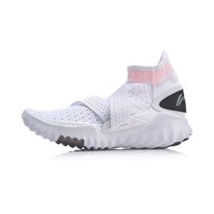Li-Ning Women 3D SOCK SHOE PRO Smart Quick Training Shoes Breathable Light High-Cut LiNing Sport Shoes Sneakers AFHP016 YXX061