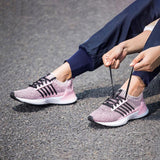 Li-Ning Women FREE RUNNER I Classic Lifestyle Shoes LI-NING CLOUD LITE Mono Yarn Sport Shoes Cushion Sneakers AGCN194 YXB201