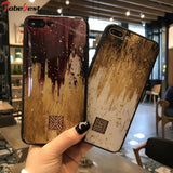 Luxury Gold Foil Glitter Phone Case for iPhone 8 7 6 6s Plus X XS Max XR Soft TPU Silicone Cover Case Coque for iPhone 8 Plus