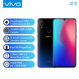 "Mobile Phone vivo Z3 Snapdragon 670/710AIE 16MP Front camera LTE Android 8.1 4G/6G+64G/128G 6.3"" Screen+ Face ID  Smart Phone"