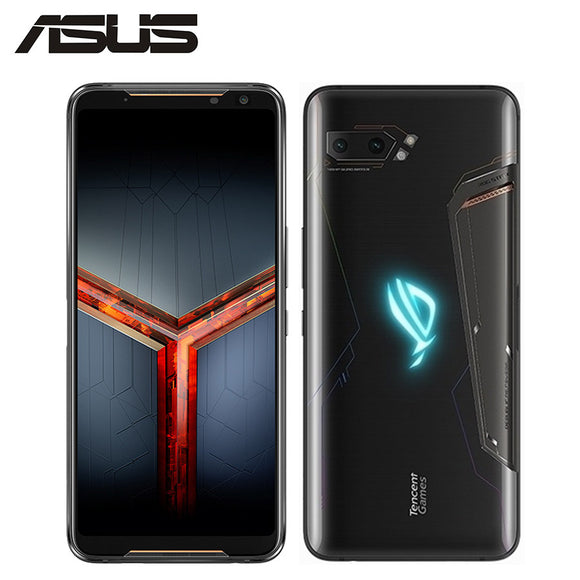 NEW Asus ROG Phone II ZS660KL Mobile Phone 8GB 128GB Snapdragon855 Octa Core 6.59