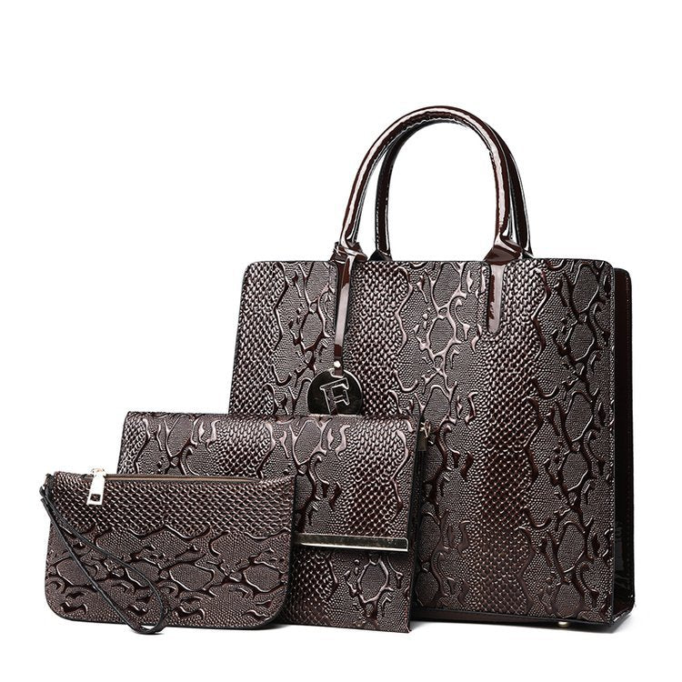 26ebd16eb9b ... New 3Pcs Bag Sets Luxury Handbags Women Bags Designer Female Shoulder  Bags For Women Handbags 2018 ...