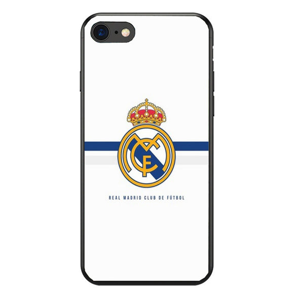 New Arrival!! Case For Real Madrid Team Logo soft Silicone TPU phone case for iPhone 8 7 6 6S Plus X XS MAX XR 10 5S Coque Shell