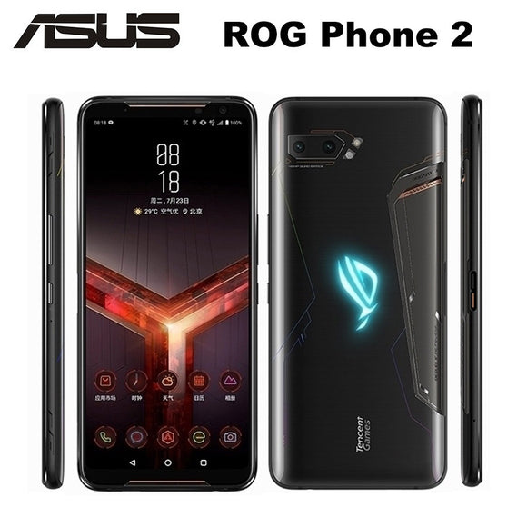 New Asus ROG Phone II ZS660KL Mobile Phone 12GB 512GB Snapdragon855+ 6.59