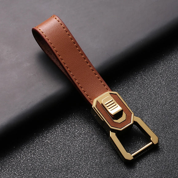 New Brand Zobo High Grade Leather Rope KeyChain 2018 Women Men Keychains Classic Car Key Holder Ultra Soft Best Gift Quality