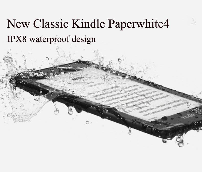 New Kindle Paperwhite 4 Waterproof 8GB Kindle Paperwhite4 300 ppi eBook  e-ink Screen WIFI 6