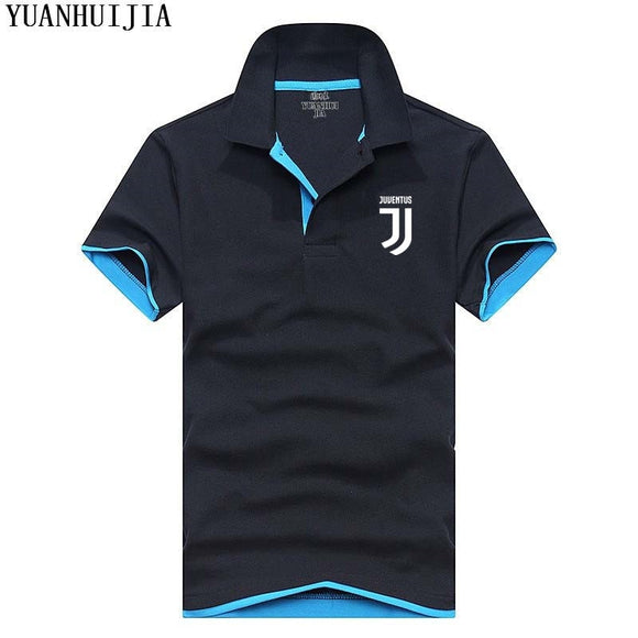 New Men's Polo Shirt Juventus For Men Desiger Polos Men Cotton Short Sleeve shirt clothes jerseys golftennis Plus Size XXXL