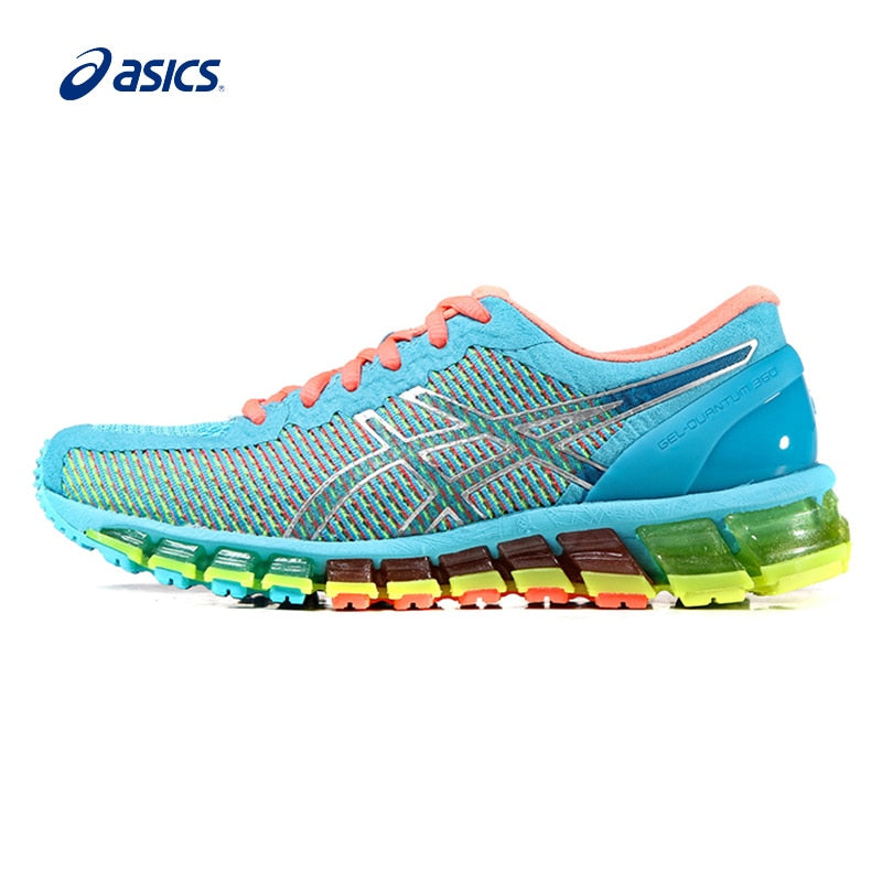e280e70c44 Original ASICS Women Shoes Hard-wearing Breathable Cushioning Running Shoes  Light Weight Sports Shoes Sneakers ...