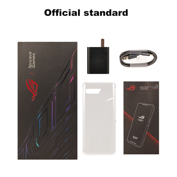 Original Asus ROG Phone II ZS660KL Mobile Phone 8GB 128GB Snapdragon855+ OctaCore 6.59