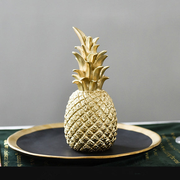 Original Nordic Modern INS Pineapple Creative Decor Living Room Wine Cabinet Window Desktop Home Decoration Furnishing Prop 1PCS