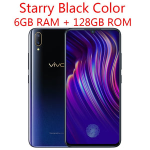 Original Vivo V11 6GB 128GB 4G LTE Snapdragon 660AIE Octa-core 6.41inch 2340x1080P Full Screen 25.0mp Front Camera Cell Phone