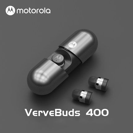 Original moto rola TWS VB400 Wireless Bluetooth earphones 3D stereo earphones with microphone IPX7 Waterproof with Charging box