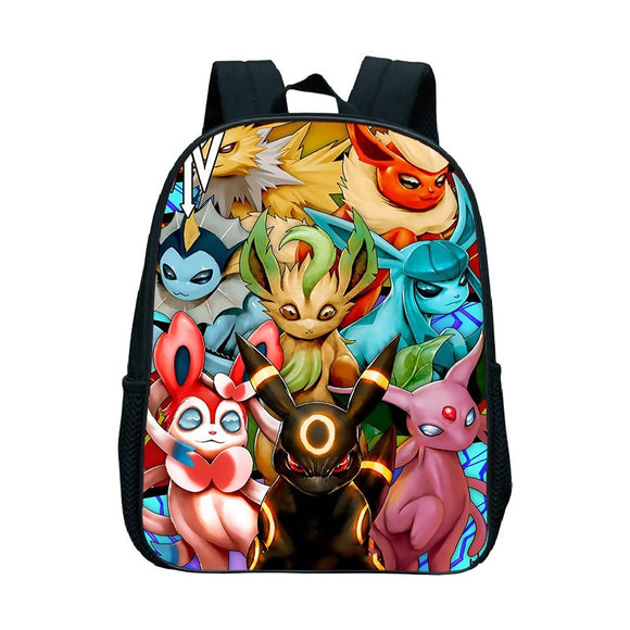 Pokemon Eevee Backpack School Bags Boys Girls Greninja Toddler Backpack Pikachu Book Bag Kids Kindergarten Mochilas