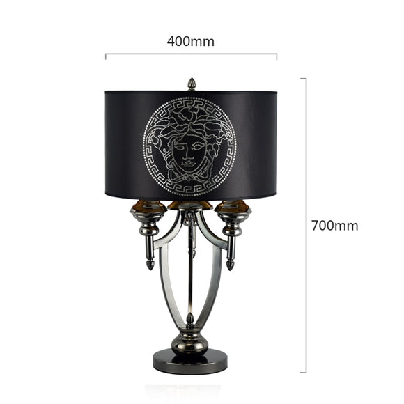 Post-modern American Lamp Living Room Bedroom Lamp European Creative Luxury Neo-classical Modern Study  Lampbedside lights