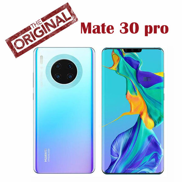 Pre sell Original Huawei Mate 30 Pro Cell Phone Kirin 990 5G SoC CPU EMUI10.0 10GB RAM 1TB ROM 7.0inch 4200Mah
