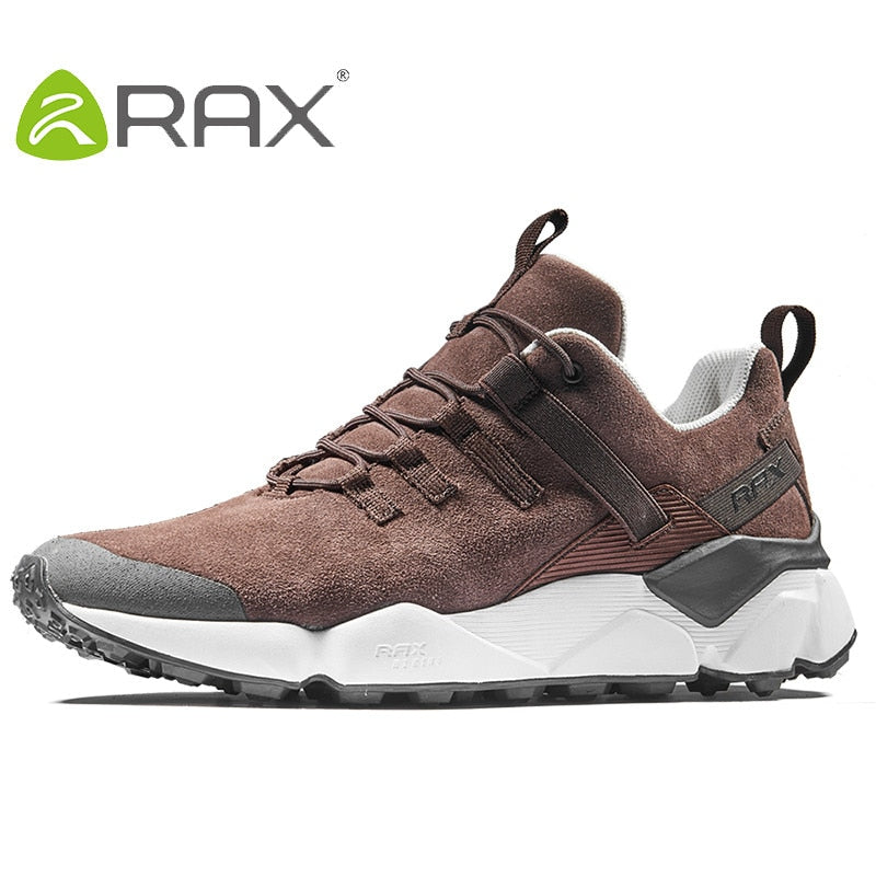 5621476579e RAX New Men's Hiking Shoes Leather Waterproof Cushioning Breathable Shoes  Women Outdoor Trekking Backpacking Travel Shoes Men