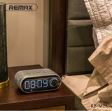 REMAX RB-M26 Portable Fabric Bluetooth Speaker with alam clock Bluetooth 4.2 Essential to home High quality music