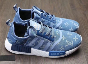 reputable site c83ca 1b42b Adidas x Gucci x Louis Vuitton x Supreme NMD Trending Running Sports Shoes  Sneakers F Blue