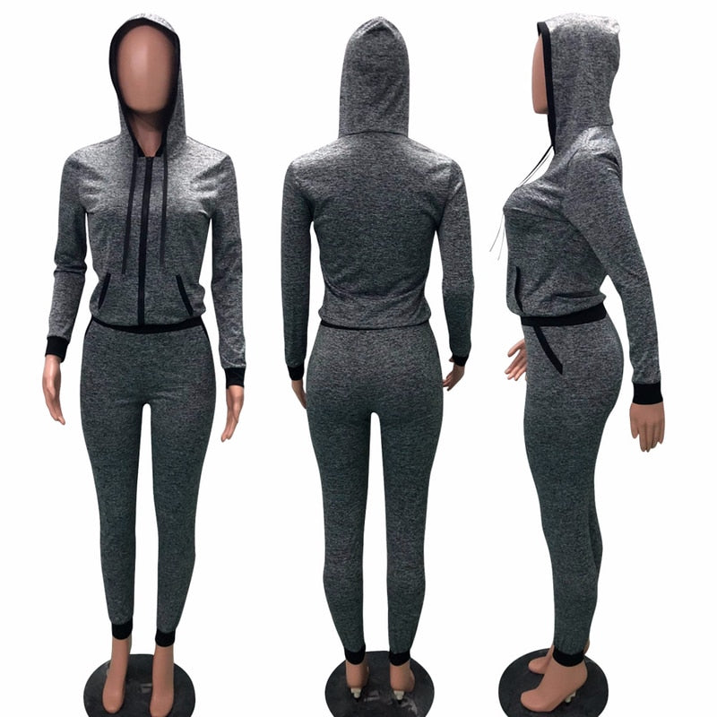f4bd6ab717e6 ... Sexy Sweater Sport Suit Female Jogging Suits for Women Sports Running  Wear for Women Gym Plus