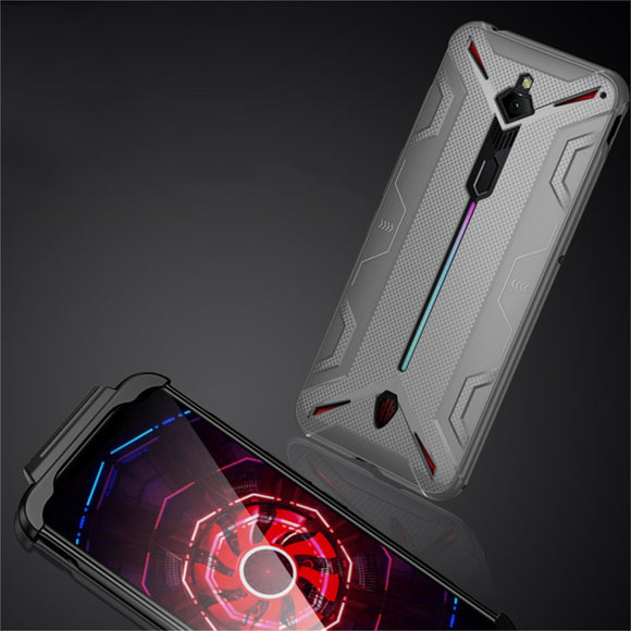 Shockproof Smartphone Protective TPU Case for Nubia Red Magic 3 Case Heat Dissipation Cover Support Gamepad for Red Magic 3 Case