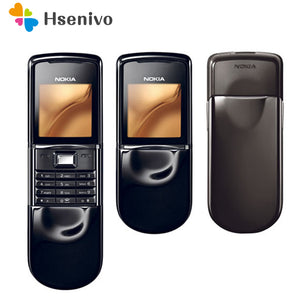 Original Phones Nokia 8800 Sirocco 128 MB English / Russian Keypad GSM Phone Bluetooth Bluetooth Silver Gold Black Refurbished