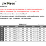 TACVASEN Men Airsoft Military Pants With Knee Pads Men Tactical Cargo Pants Army Soldier Combat Pant Trousers Paintball Clothing