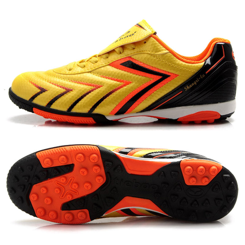 84c29f26d69 ... TIEBAO Adults Football Shoes Soccer Shoes Men Women Athletic Training Sneakers  Outdoor Sports TF Turf Soles ...