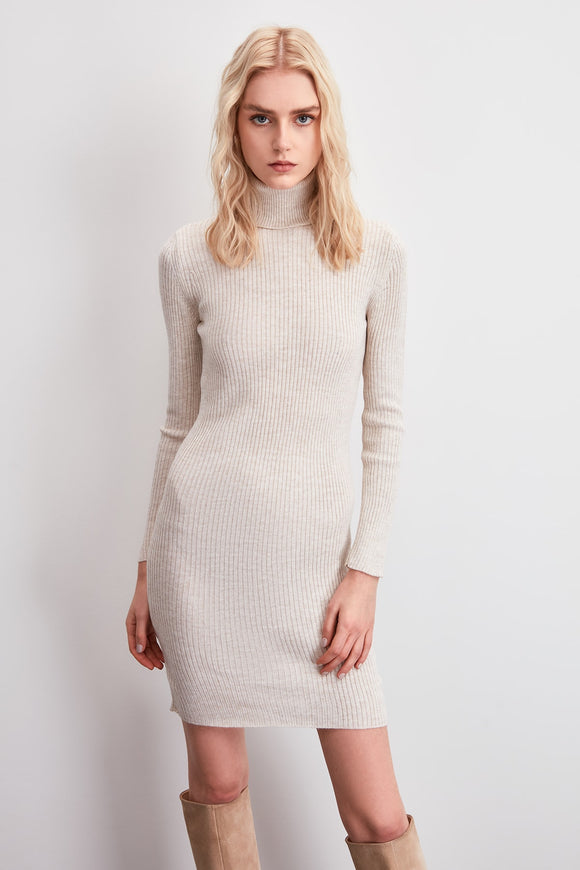 Trendyol Turtleneck Sweater Dress TWOAW20EL2253