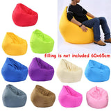 Waterproof Stuffed Animal Storage/Toy Bean Bag Solid Color Oxford Chair Cover Large Beanbag(filling is not included)