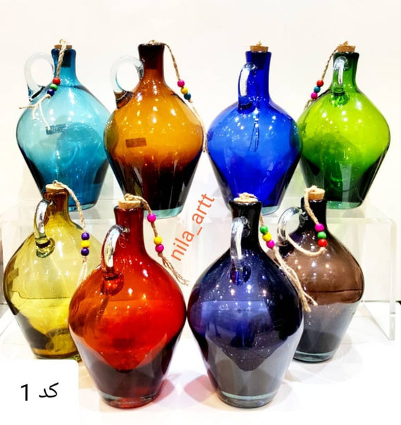 Beautiful Handmade Jars *(Art)