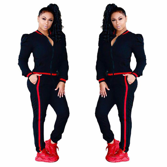 Womens Jogging Suits Set Two Piece Sports Wear for Women Gym Sports Suit Women Spring Female Tracksuit Running Fitness Set