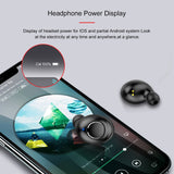 X8 TWS Earbuds Wireless Bluetooth 5.0 Earphones Volume Control Mini Headsets Sport Twins Headphone Noise Cancel Dual Microphones