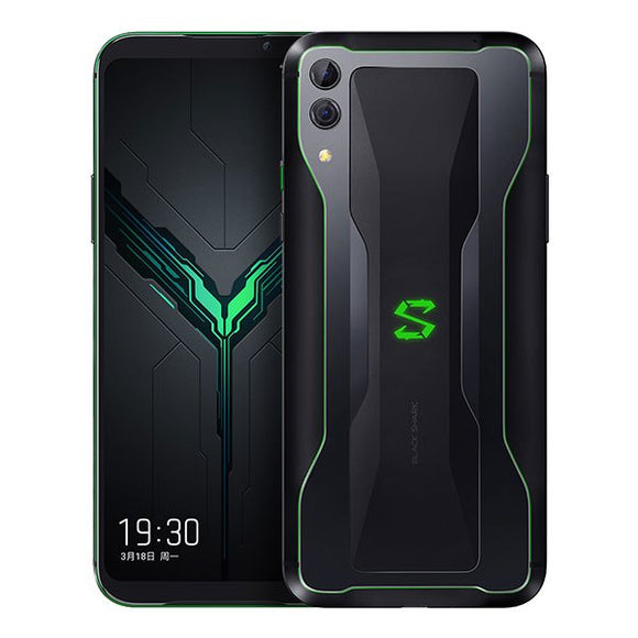 Xiaomi Black Shark 2 8GB 128GB Gaming Phone Snapdragon 855 Octa Core Dual Camera 48+12MP 4000mAh Game Smarphone 19.5:9 Smarphone