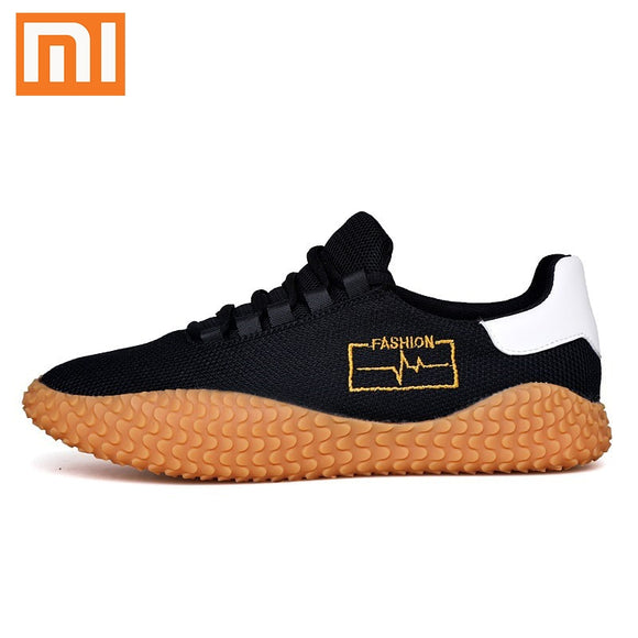 Xiaomi Flyknit Men's Casual Shoes Classic Simplicity Men Sport Shoes Rubber Sneakers 2020 Hot Sale Breathable Jogging Wholesale