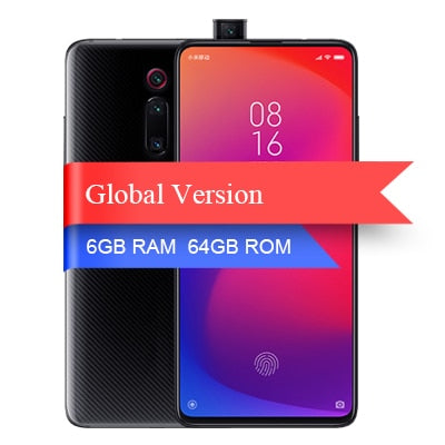 Xiaomi Mi 9T Pro Snapdragon 855 6GB 64GB Smartphone 48MP AI Rear Triple Camera Pop-up Front Camera 4000 mAh QC4.0 Global version