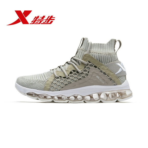 Xtep New Arrival High Cut Women Sports Shoes Fashion Athlete Female Sneaker Breathable Lightweight Woman Shoe 982318119059