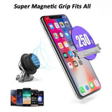 YOUSIGOOD  Hat new cute little car phone holder 360 degree rotating heavy metal solid magnet phone holder For iphone X 8 plus