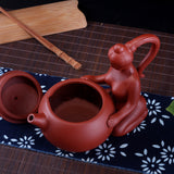 Yixing Teapots Chinese Handmade Xi Shi Teapot Authentic Zisha Tea Kettle Purple Clay Pot Kung Fu Tea Set