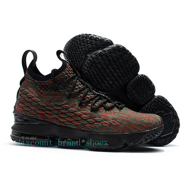 best sneakers 28b55 d9af3 Purple Rain lebron 15 Lakers Bright Crimson Basketball Shoes lebrons 15s  Griffey Four Horsemen Orange Box trainers sports Sneakers