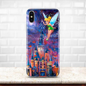 promo code 2157f d98b0 Inspired by Disney Castle iPhone XS Max case Disney case iPhone 7 case  Samsung S9 Plus case Pixel 3 Tinkerbell iPhone X Note 9 iPhone 8 XR