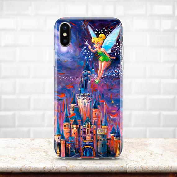 promo code 4dc49 f2dac Inspired by Disney Castle iPhone XS Max case Disney case iPhone 7 case  Samsung S9 Plus case Pixel 3 Tinkerbell iPhone X Note 9 iPhone 8 XR