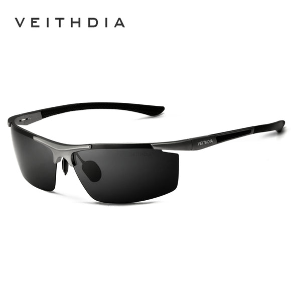 VEITHDIA Aluminum Magnesium Sunglasses Polarized Mens Coating Mirror Sun Glasses oculos Male Eyewear Accessories 6588