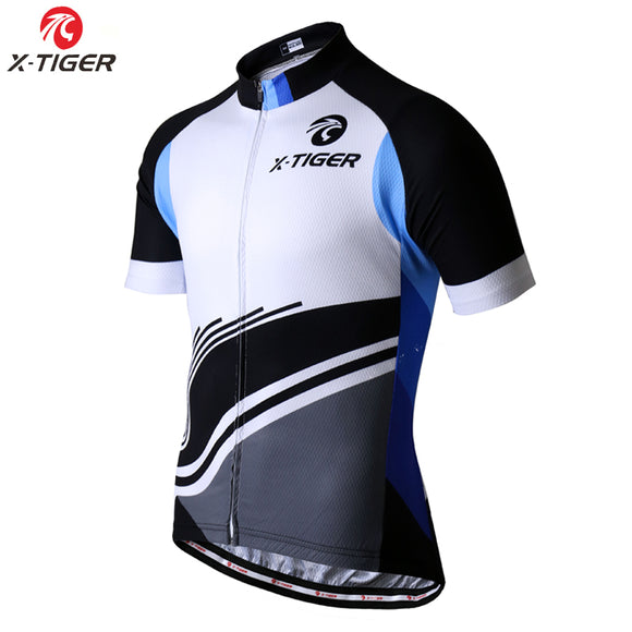 X-TIGER 2017 Short Sleeve Cycling Jersey Summer Mountain Bicycle Clothing Maillot Ropa Ciclismo Racing Bike Clothes
